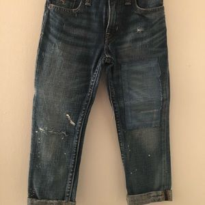 Boys Polo Jeans - Distressed